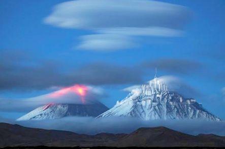 au temps d'un volcan